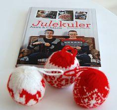 knitted decoration (book: Julekuler)