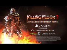Mi Mundo Es Diferente Al Tuyo: Killing Floor 2 Trailer Gameplay PS4