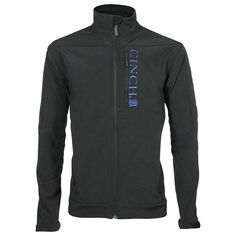 Cinch Men's Embroidered Track Jacket