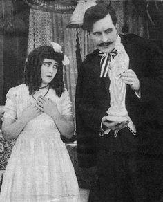 Extraordinarily rare photograph of director William Desmond Taylor as a screen actor. #SilentFilm #VintageHollywood #IrishEarlyCinema