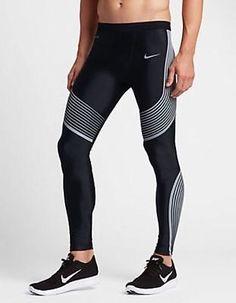 fb191e6a7f6b NWT Nike Power Speed Flash Tights Compression Running Gym 800619 010 SZ XL