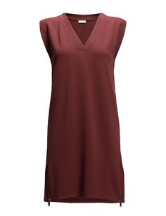 DAY - Easy Side zipper detail Micro cap sleeves V-neckline Excellent quality and fit Functional Modern Simple Dress Dresses Simple Dresses, Cap Sleeves, Neckline, Tunic Tops, Zipper, Detail, Day, Modern, Shopping