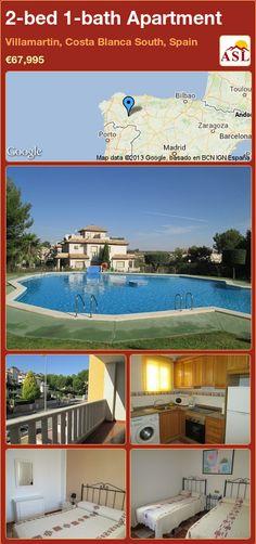 2-bed 1-bath Apartment in Villamartin, Costa Blanca South, Spain ►€67,995 #PropertyForSaleInSpain