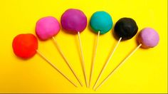 Play-Doh Lollipops with Toys Game for Kids