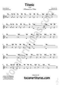 Piano Sheet Music Letters, Clarinet Sheet Music, Easy Piano Sheet Music, Piano Music Notes, Violin Sheet Music, Trumpet Music, Lindsey Stirling, Stevie Nicks, James Horner Titanic