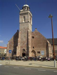 Katwijk aan Zee, de witte Kerk