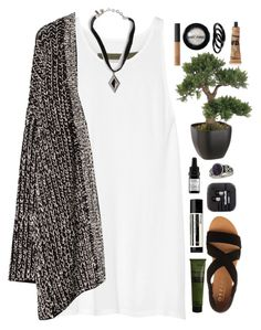 """I had already passed 10 deadlines."" by nandim ❤ liked on Polyvore featuring Enza Costa, MANGO, Odacité, Vanessa Mooney, Aesop, Miss Selfridge, Office, NARS Cosmetics, Manic Panic and Furla"