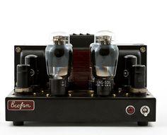 Valve Amplifier -ecofan_6A3_amplifier_front