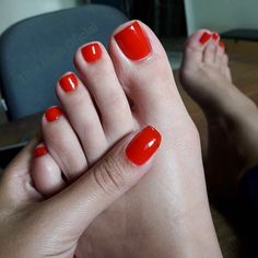 My girl Theresa got bomb feet, check her out ----->HERE Pretty Toe Nails, Cute Toe Nails, Pretty Toes, Nice Toes, Painted Toes, Nails Polish, Feet Nails, Foot Toe, Beautiful Toes