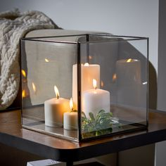 Modern home design focuses on simplicity and open, clean forms to create spaces that feel accessible and inviting. The MoDRN Matte Black Glass Candle. Large Candle Holders, Candle Holder Decor, Large Candles, Black Candles, Pillar Candles, Candle Lanterns, Modern Candles, Glass Holders, Candleholders