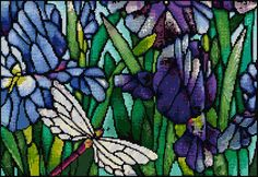 Crocus Fields Cross Stitch Download pdf chart Halloween