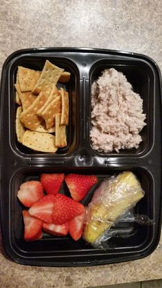 Bariatric bento lunch for Gastric Bypass patients