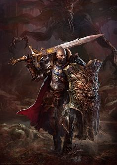 ArtStation - Harkyn the Slayer, Gregory Pedzinski