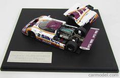 HPI-RACING HPI0994 Scale 1/43  JAGUAR XJR9 TEAM TOM WALKINNSHAW RACING N 2 WINNER 24h LE MANS 1988 J.DUMFRIES - J.LAMMERS - A.WALLACE WHITE VIOLET