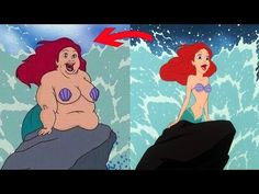 What Disney Princesses Would Look Like If They Were fat - YouTube