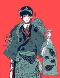 OMOCAT Fish Boy