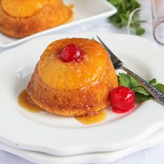Take the classic Pineapple Upsidedown cake, add a packet of coconut pudding, then pop it into muffin tins and you've got this gorgeously simple recipe homemade without any muss or fuss! The cupcakes are cooked in a rich, brown sugar caramel sauce, with the cake texture rich and sweet--a perfect pudding cake. And, you'll never know it all starts with a box mix!