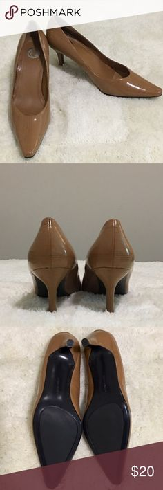 Donna Lawrence Gambler Kitten Heel  Donna Lawrence Gambler Kitten Heel  Camel Color ... Brand New ... Never Worn.. Comes With Box  Donna Lawrence  Shoes Heels