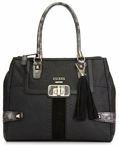 GUESS Handbag, Attis Fancy Satchel
