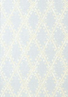 La Gioconda #wallpaper in #slate #blue from the Artisan collection. #Thibaut