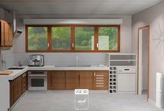 Une cuisine rénovée au Havre, par Esther & Aliette Couturier, notre duo d'architecte d'intérieur en Haute-Normandie