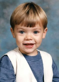 Harry Styles as a kid! sooo adorable!!(: