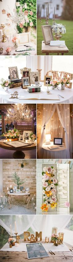 35 Creative Guestbook and Sign-in Wedding Table Décor Ideas! | http://www.deerpearlflowers.com/35-creative-guestbook-and-sign-in-wedding-table-decor-ideas/