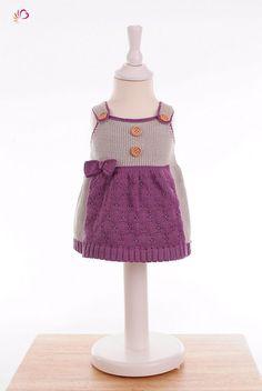 Baby Dirndl Strickdirndl 50-92 Wunschfarbe von Joseda auf DaWanda.com