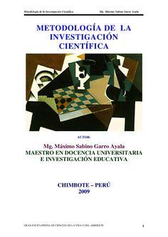 METODOLOGIA DE LA INVESTIGACION by maxgarro via slideshare