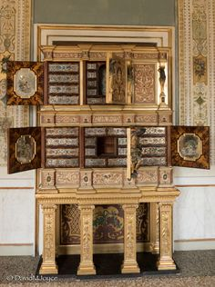 Marquetry, Cabinets, Art, Brass, French, Museums, Italy, Armoires, Art Background