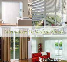 Alternatives to Vertical Blinds