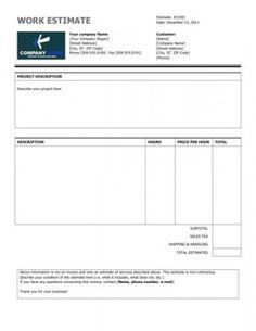 Online Free Invoice Image On Hloom Httpwww.hloomfreeexcelinvoicetemplates .