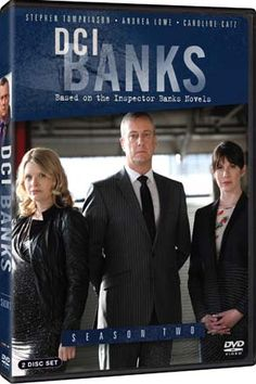 """DCI Banks"" DCI Banks: Season 2 at BBC Shop Season two of this PBS favorite provides no shortage of twists, turns and shocking revelations by the no-nonsense DCI Banks, (Stephen Tompkinson, Ballykissangel). Relentless in his pursuit of justice, Banks must deal with dramatic changes to his team as the impossible-to-read Helen Morton enlists as his new partner. Banks receives a disturbing message from his estranged brother asking for help."