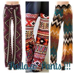 Pallazo pants !!!