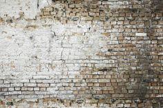 Aged Brickwall - Wall Mural & Photo Wallpaper - Photowall
