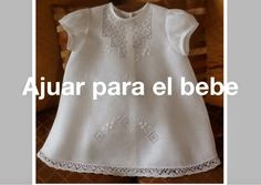 Drawn Thread, Baby Sewing, Baby Dresses, Clothes, Tops, Women, Image, Fashion, Baby Embroidery