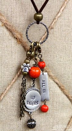 Clemson Girl: Clemson gameday jewelry from All Inspired Boutique