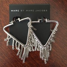 NWT Marc by Marc Jacobs Earrings NWT Marc by Marc Jacobs Earrings.  Never worn. Marc by Marc Jacobs Jewelry Earrings