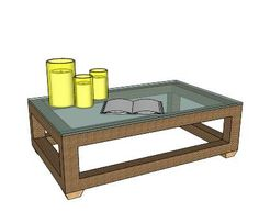 Outdoor Coffee Table by JohnnyP - 3D Warehouse