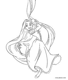 Free Printable Rapunzel Coloring Pages For Kids Rapunzel Coloring Pages, Disney Princess Coloring Pages, Disney Princess Colors, Princess Rapunzel, Printable Coloring Pages, Coloring Pages For Kids, Flynn Rider And Rapunzel, Shapes Worksheets, Cute Disney Drawings