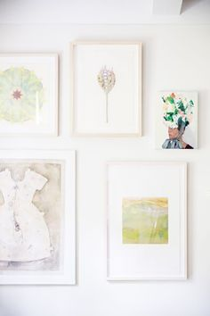 A gallery wall is an easy go-to: http://www.stylemepretty.com/living/2015/09/08/13-tips-on-how-to-make-your-rental-regal/: