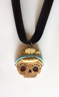 Lil' Skully's  Cinderella Pendant by littleSamantics on Etsy, $12.00