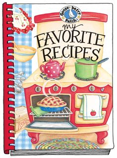 My Favorite Recipes Blank Cookbook - create your own cookbook! Keep all your favorite recipes in one handy place with this blank cookbook.