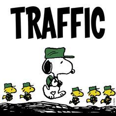 Traffic jam.