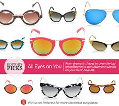 40860cbc35ef It s time to up your frame game with a pair of statement sunnies!