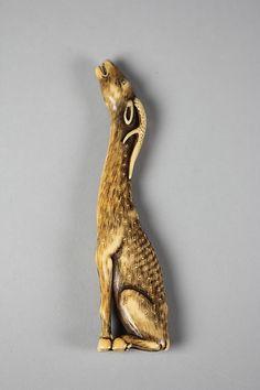Stag Period: Meiji period (1868–1912) Date: second half of the 19th century Culture: Japan Medium: Ivory Classification: Netsuke