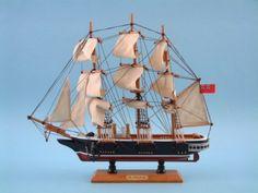HMS Warrior Model Ship