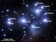 Pleiadies star cluster - incredibly beautiful