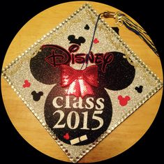 Disney Minnie Mouse graduation cap