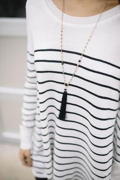 Back For More Tassel Necklace - Pink